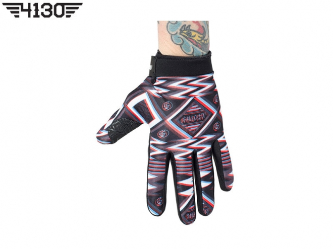 SHADOW UHF Gloves -Black/White/Red- 30% 세일