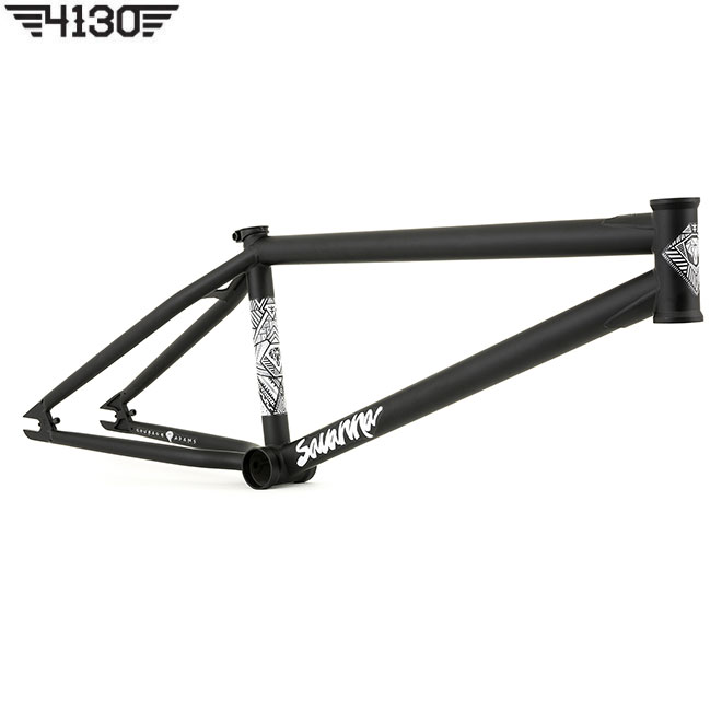 FLY SAVANNA FRAME 20.7 TT -Flat Black- [Courage Adams S.G]