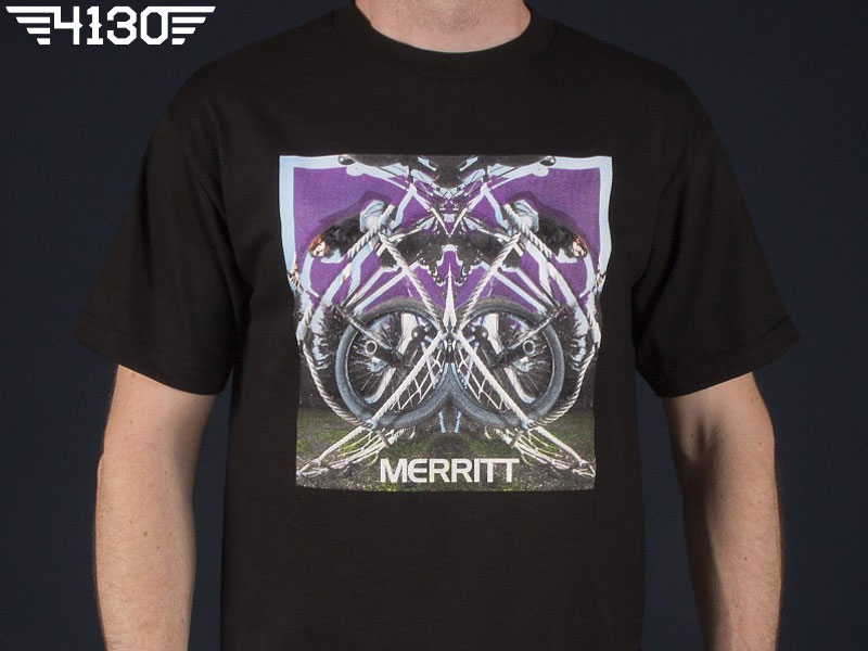 MERRITT PHOTO15 TEE -Black- XL