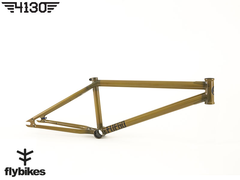 "FLY FUEGO3 BMX Frame 20.5""TT -Gloss Semi Trans Brown-"