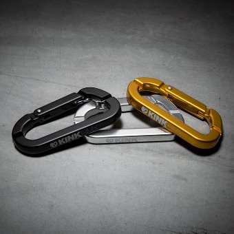 KINK Spoke Wrench CARABINER 블랙 / 골드 / 실버