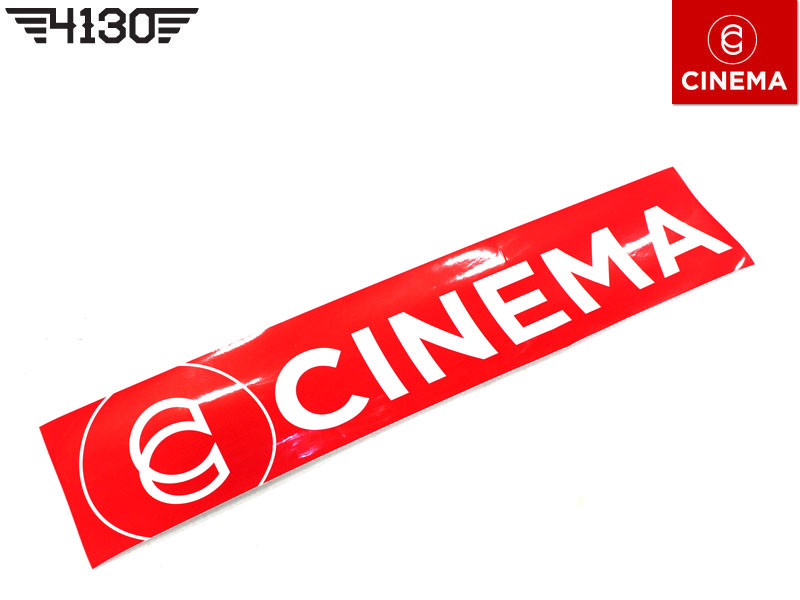 CINEMA RAMP STICKER