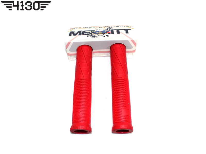MERRITT CROSS CHECK GRIPS -Red-