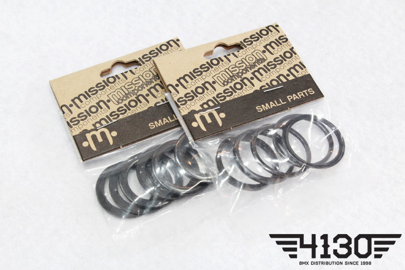 MISSION STEEL BB SPACERS -19 / 22-